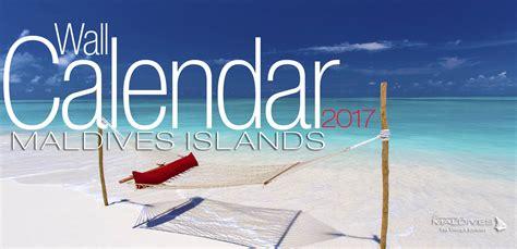 Calendar Island 2017 Wall Calendar Maldives Islands 2017 Calendar With 13
