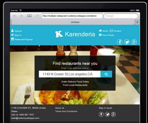 yii mail layout ready made php online food ordering script an expert review