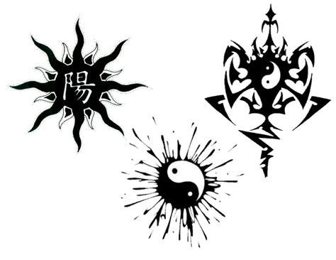 yin yang tattoo flash collection of 25 yin yang tattoo art