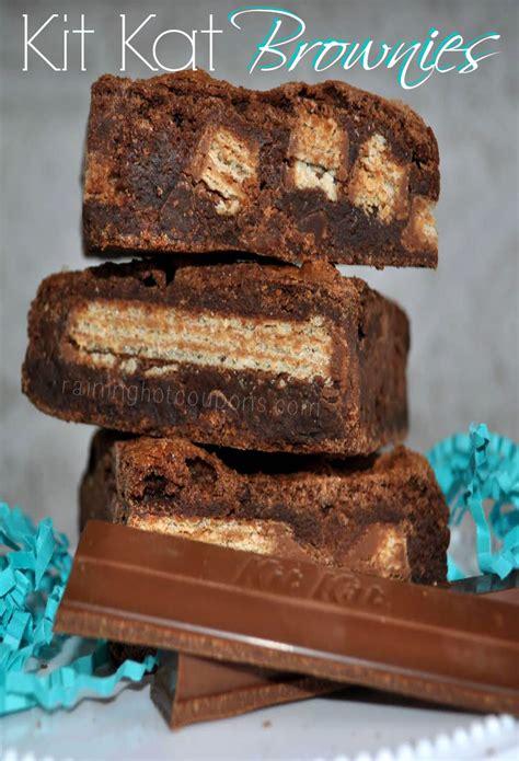 Kitkat Brownie kit brownies