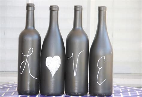 desperate craftwives chalkboard wine bottles