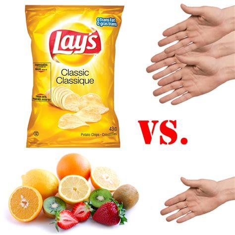 vs food healthy vs unhealthy foods