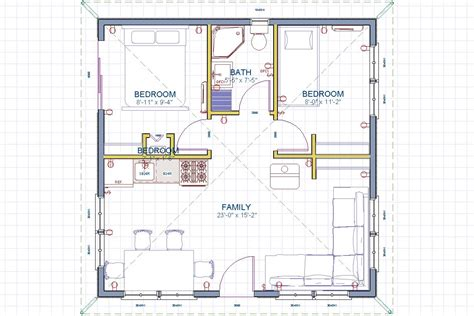 24x24 floor plans charming free 24x24 garage plans 2 24x24 plan jpg house plans