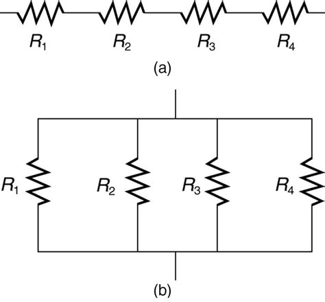 series of resistor college physics resistors in series and parallel voer
