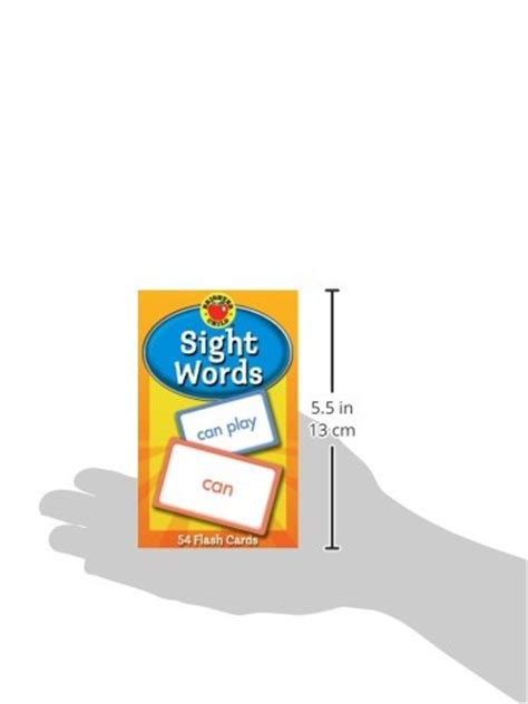 sight words brighter child sight words flash cards brighter child flash cards buy online in uae cards products in