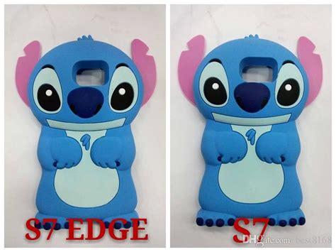 Samsung Galaxy J1 Ace 3d Stitch 4 Soft Silicon 3d stitch lilo soft silicone for samsung galaxy s7
