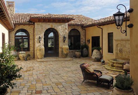 entry courtyard mediterranean patio santa barbara