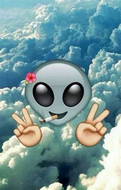 Wallpaper Emoji Alien | 17 best images about backrounds on pinterest iphone