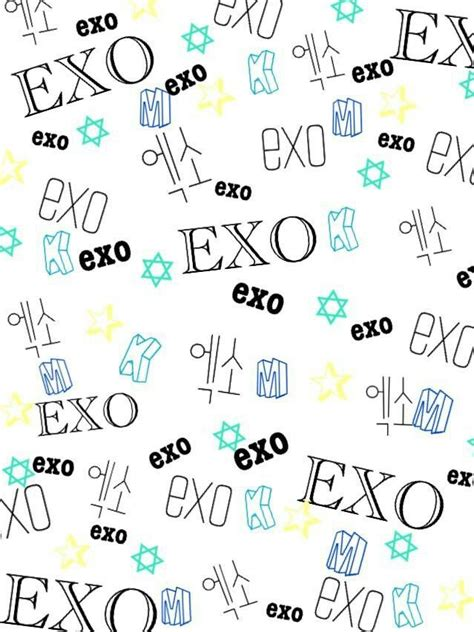 exo xoxo iphone wallpaper exo wallpaper k pop fanart pinterest exo and wallpapers