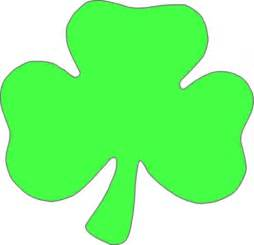 Shamrock Outline Clipart by Outline Of Shamrock Cliparts Co