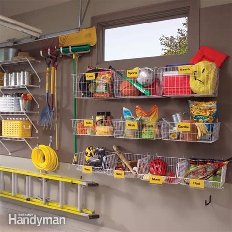 organizing garage space fabulous home organizing ideas