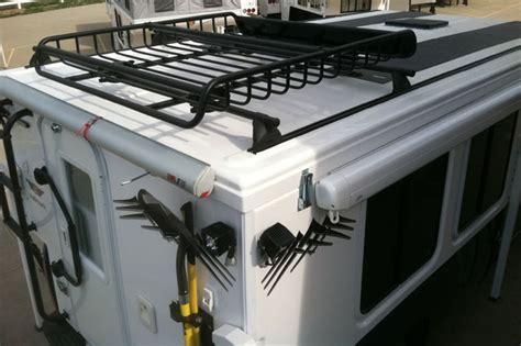 Popup Cer Roof Rack by Hallmark Custom Roof Racks Yakima Rv Skoolie Roof Rack Truck Cer And Rv