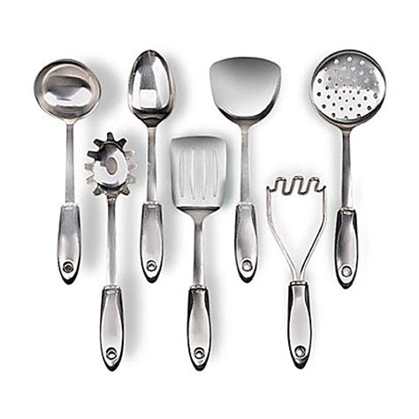 Kitchen Decorating Idea Oxo Steel Utensils Bed Bath Amp Beyond