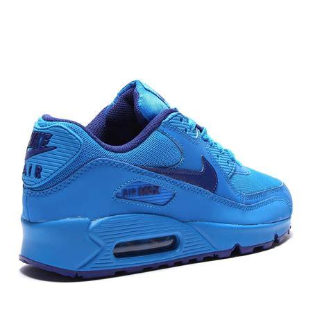 cheap nike air max 90 junior blue trainers clearance sale uk