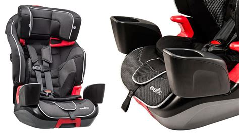 evenflo toddler car seat recall evenflo recalls transitions booster seat due to risk of