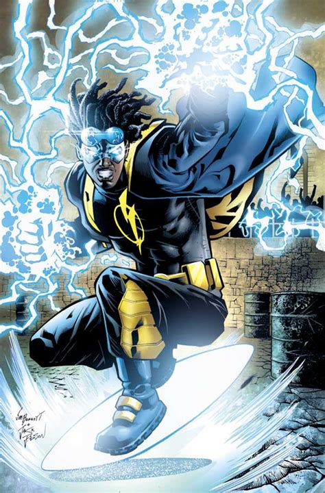 As Shock Sonic Blue comic book the static shock live