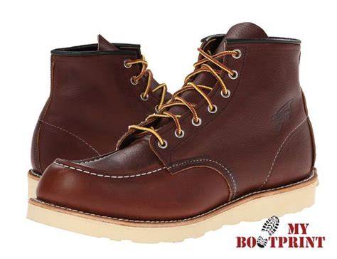 Sepatu Murah Redwing Heritage Safety Boots wing heritage classic 6 inch moc toe work boot review