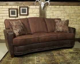 rustic sofas cozy cabin rustics