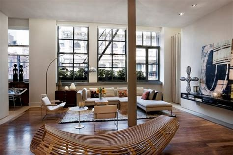 Wohnzimmer New York Style by Moderne Und Praktische Fenstergestaltung Wohn Designtrend