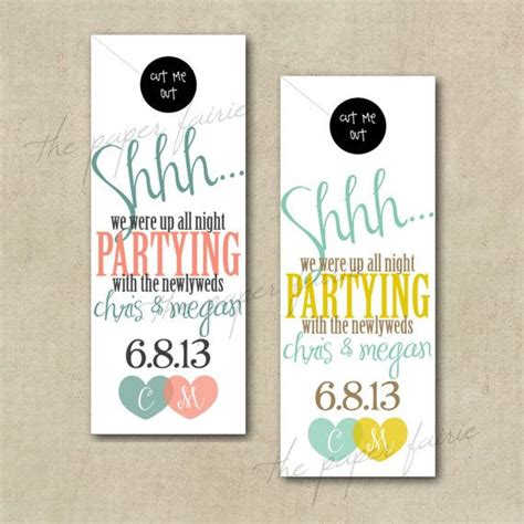 wedding door hangers template door tag hanger honeymoon destination wedding