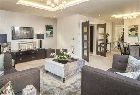 living room show 2 bedroom detached house for sale in the common stanmore