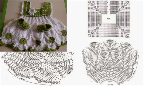 como tejer vestidos para bebe crochet trico y crochet madona m 237 a vestidos para bebe a ganchillo