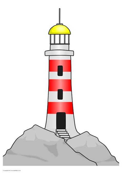 light house displays lighthouse picture for display sb11732 sparklebox