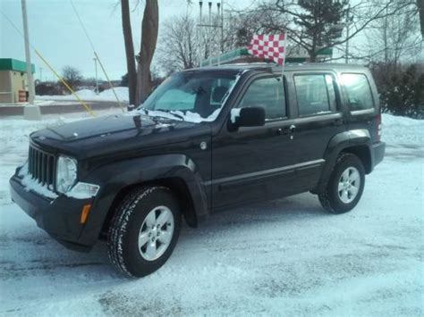 Jeep Liberty Trail Sell Used Winter Ready Locked And Loaded 2011 Jeep Liberty