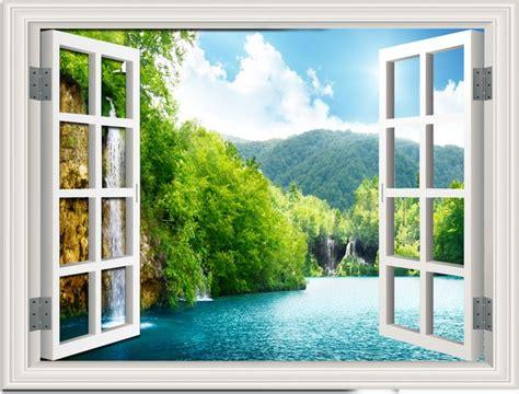 imagenes de paisajes vistos desde una ventana ventana paisaje verde archivo png y psd para descargar