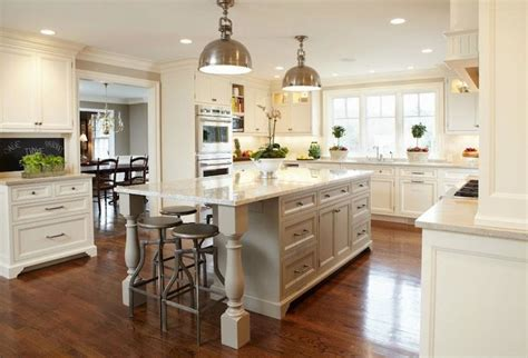 u shaped kitchens with islands tr building remodeling beautiful two tone u shaped