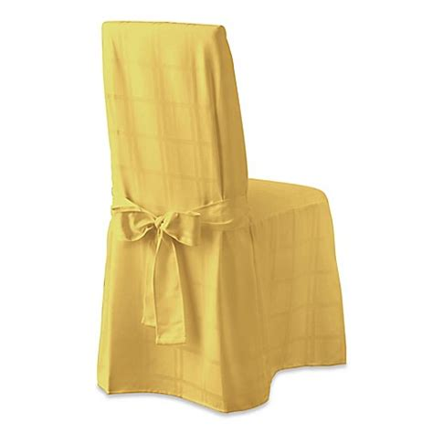 Yellow Chair Covers by Buy Origins Microfiber Dining Room Chair Cover In Yellow