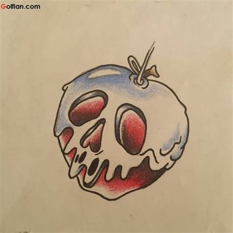 melting skull tattoo 55 most scary skull apple tattoos horrible apple