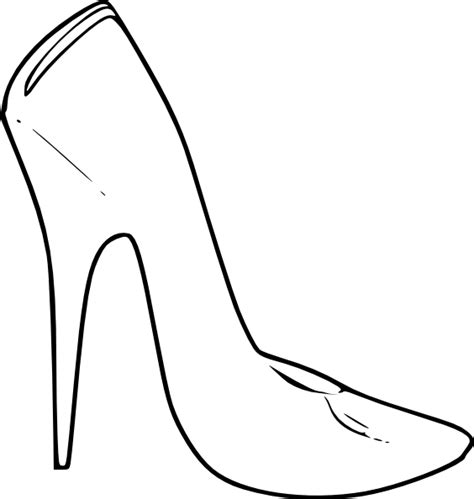 Shoe Outline Template   Free Download Clip Art   Free Clip