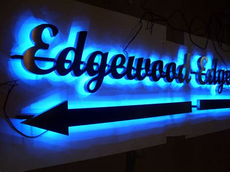 No Backlite Led Sign aliexpress buy customized 3d channel letters