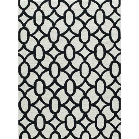 white pattern area rug frank hand hooked grey black area rug