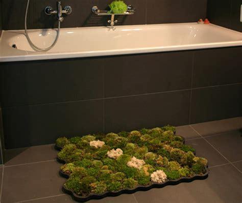 how to make a moss rug moss bathroom mat