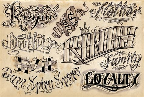 12 cool tattoo lettering designs project 4 gallery