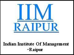 Mba Freshers In Raipur by Iim Raipur Placement Report For Batch 2012 14