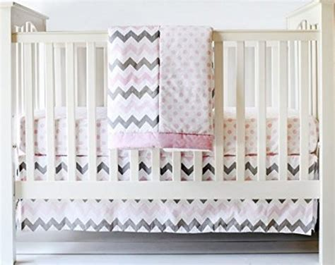 Grey Chevron Crib Skirt by Black And Gray Chevron Crib Skirt Prefab Homes