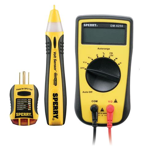 sperry 3 professionals electrical tester kit sk 1