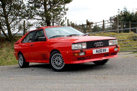 What Is Quattro Audi by Audi Ur Quattro Retro Road Test Motoring Research