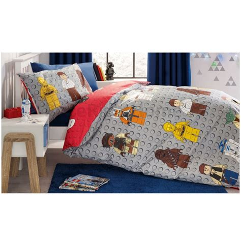 Lego Star Wars Single Duvet Cover Set New Reversible Ebay Lego Wars Bedding Set