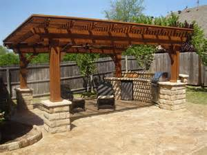 pergola outdoor kitchen outdoor pergola kitchen patio pinterest