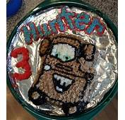 Homemade Mater Birthday Cake