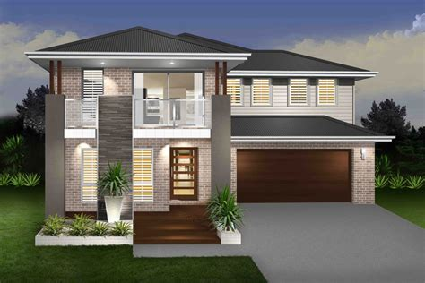 Southern Homes Floor Plans by Daintree Cove Double Storey Marksman Homes Illawarra