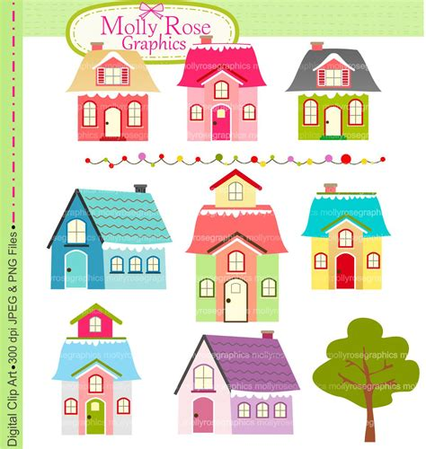 little house of art cute little house clipart clipground