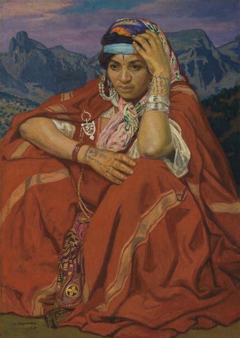 1294803891 la kabylie et les coutumes le costume de kabylie l algerie ses coutumes sa