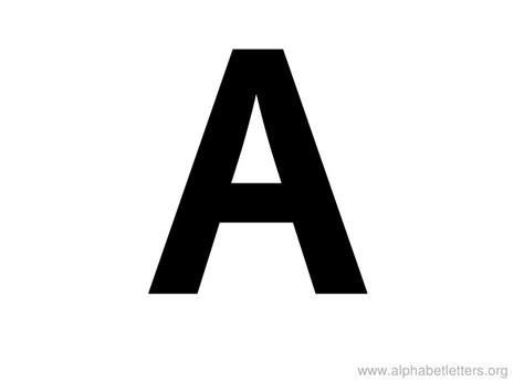 printable letters large alphabet letters a printable letter a alphabets alphabet