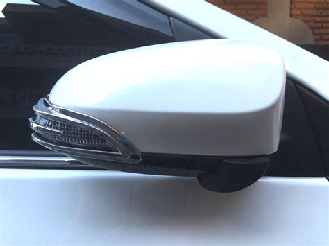 Toyota Corolla Indicator L by Chrome L R Side Mirror Indicator Cover Toyota Corolla