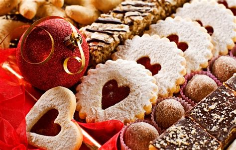 new year ribbon biscuit wallpaper cakes happy new year merry